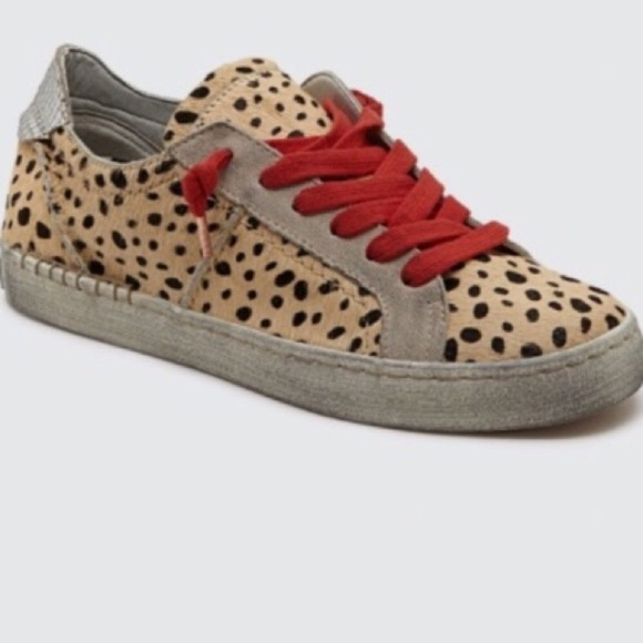 Dolce Vita Zalen Leopard Print Sneaker